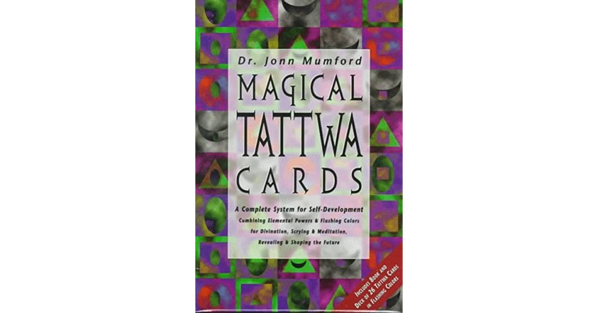 Magical tattwa cards a complete system of self development by jonn magical tattwa cards a complete system of self development by jonn mumford fandeluxe Gallery