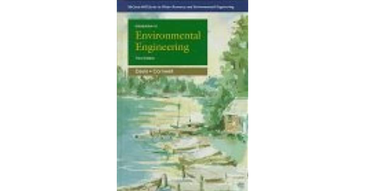 Introduction To Environmental Engineering Davis And Cornwell Pdf