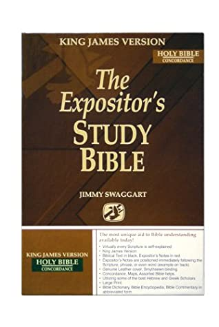 The Expositor's Study Bible KJVersion/Concordance by Jimmy