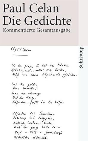 Die Gedichte By Paul Celan