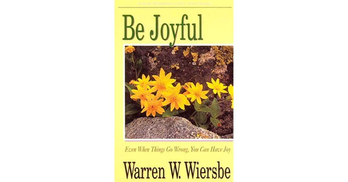 Warren Wiersbe Be Joyful Ebook