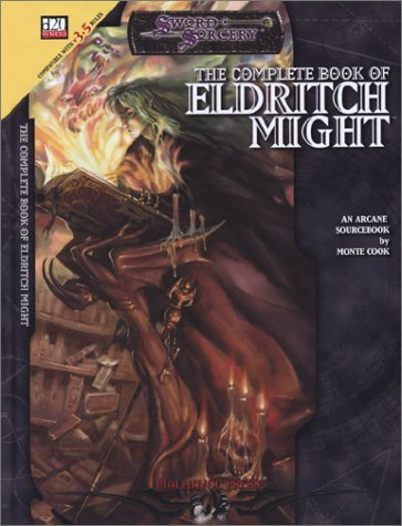 The Complete Book of eldritch might