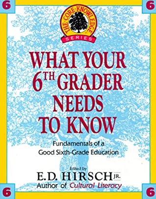 What Your 6th Grader Needs to Know: Fundamentals of a Good Sixth-Grade Education