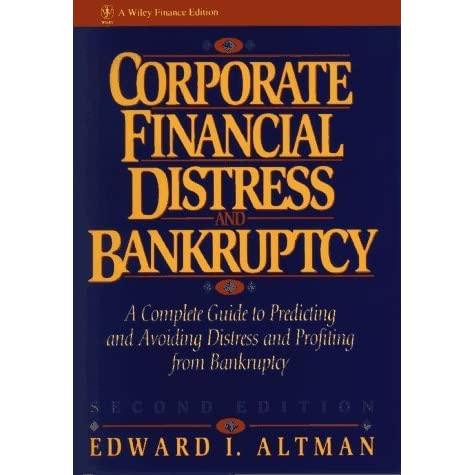 study on the prediction of corporate bankruptcy The purpose of this study is to synthesize the findings of prior bankruptcy prediction research studies by compiling and classifying the independent variables used as predictor variables in the studies.
