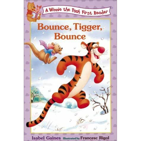 bounce tigger bounce by isabel gaines