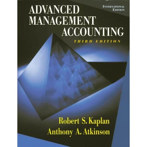 Advanced management accounting by robert s kaplan fandeluxe Choice Image