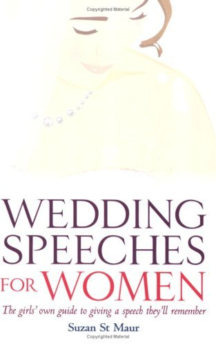 Wedding Speeches for Women The G