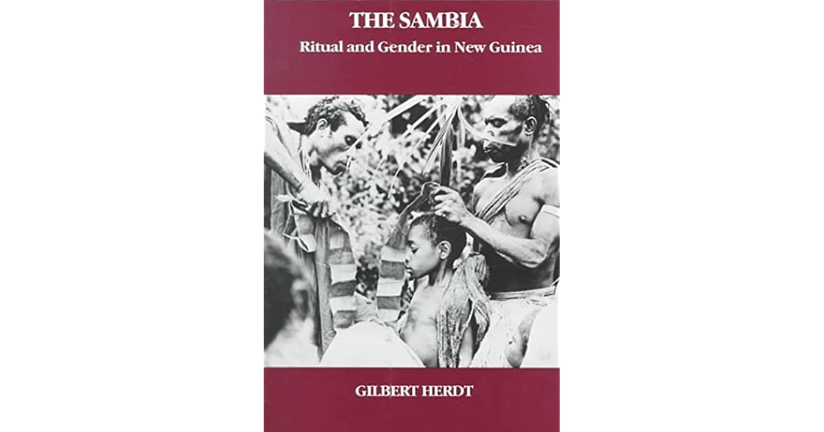 Sambia ritualized homosexuality in christianity
