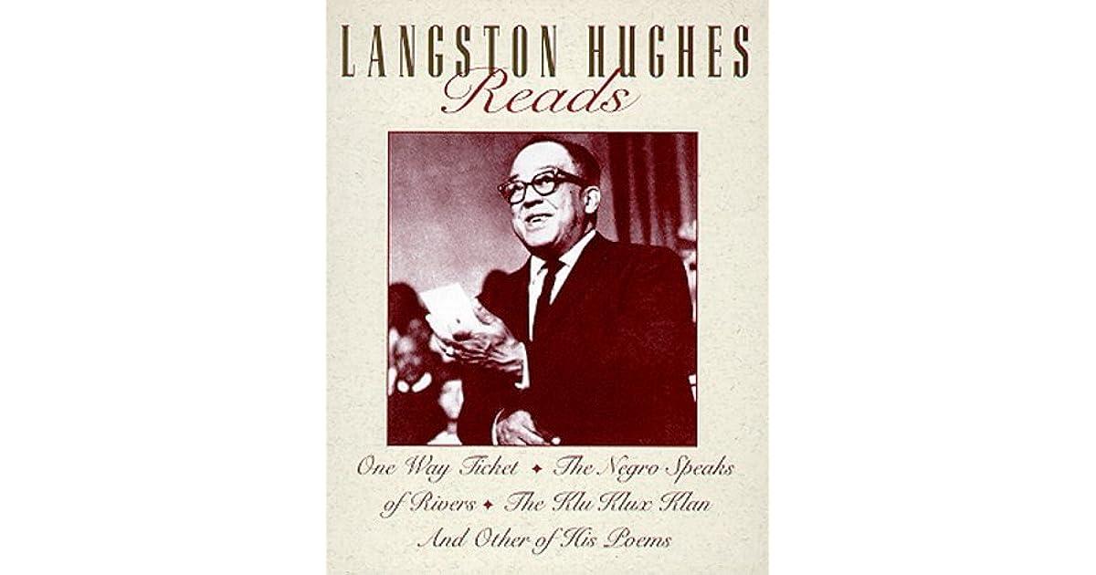 langston hughes poem the negro speaks of rivers