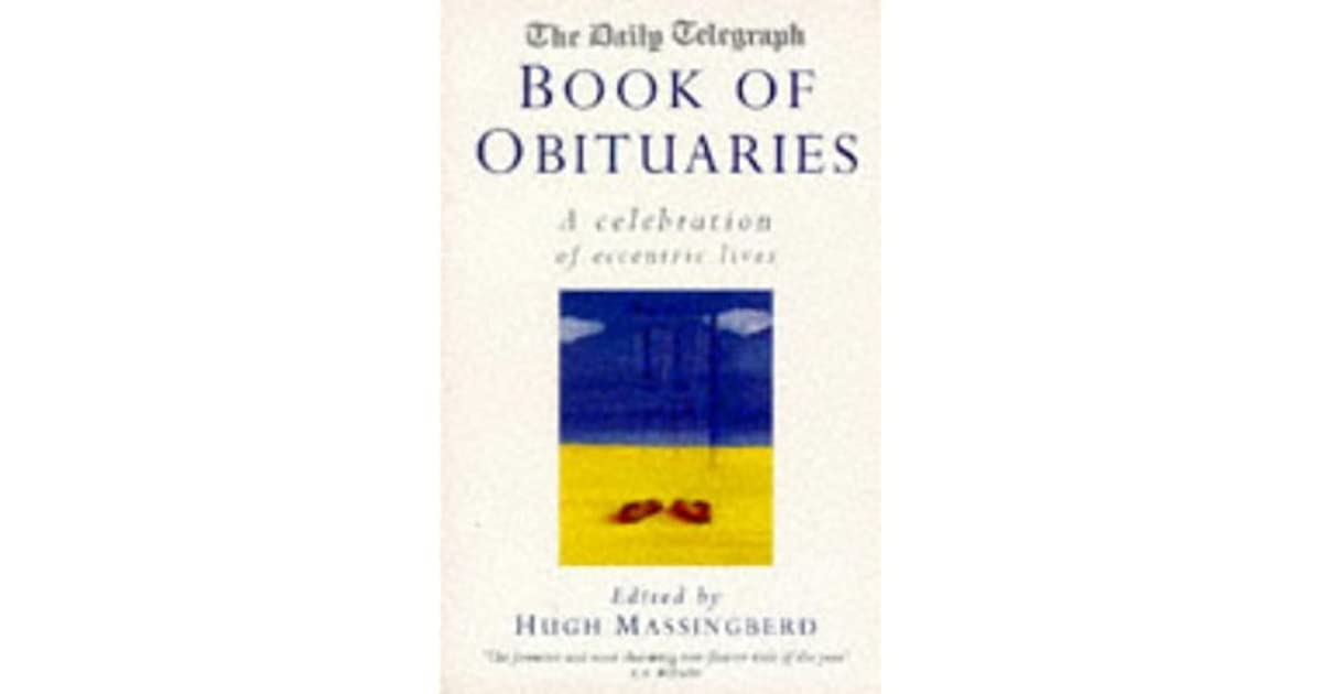 Daily Telegraph Book of Obituaries by Hugh Montgomery