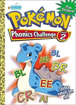 Pokemon Phonics Challenge Grade 2 with EZ Peel Stickers (Workbooks With Stickers)