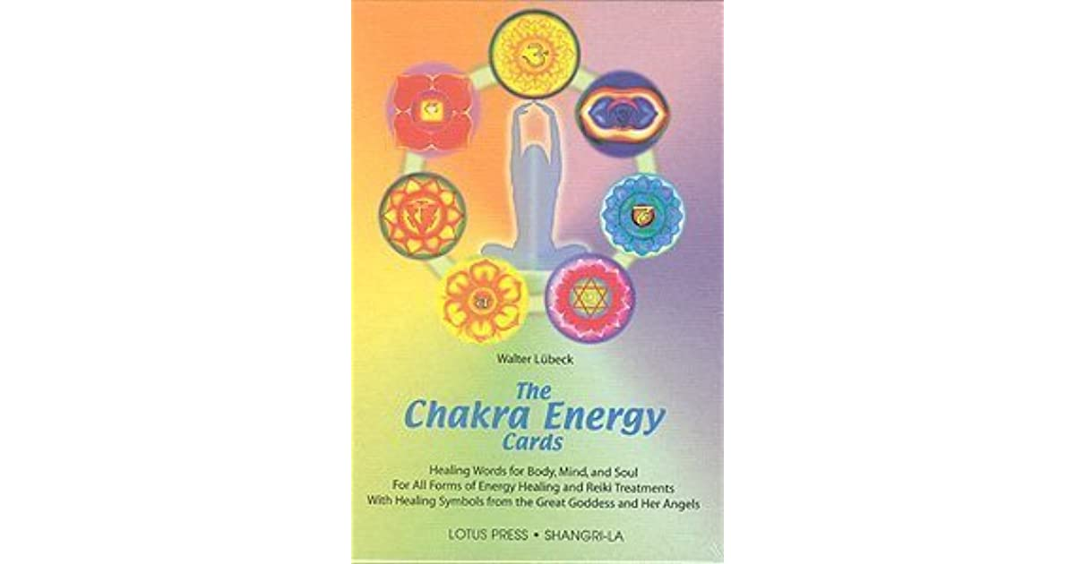 Chakra Energy Cards The Book And Card Set By Walter Lbeck