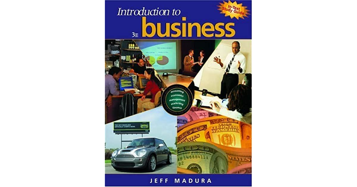 Introduction to Business [With Booklet] by Jeff Madura