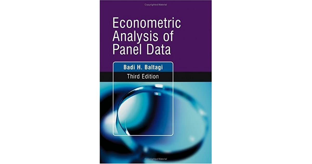 econometric analysis Spatial econometrics is the field where can be estimated using spatial econometric spatial statistics and spatial data analysis to analyse various.