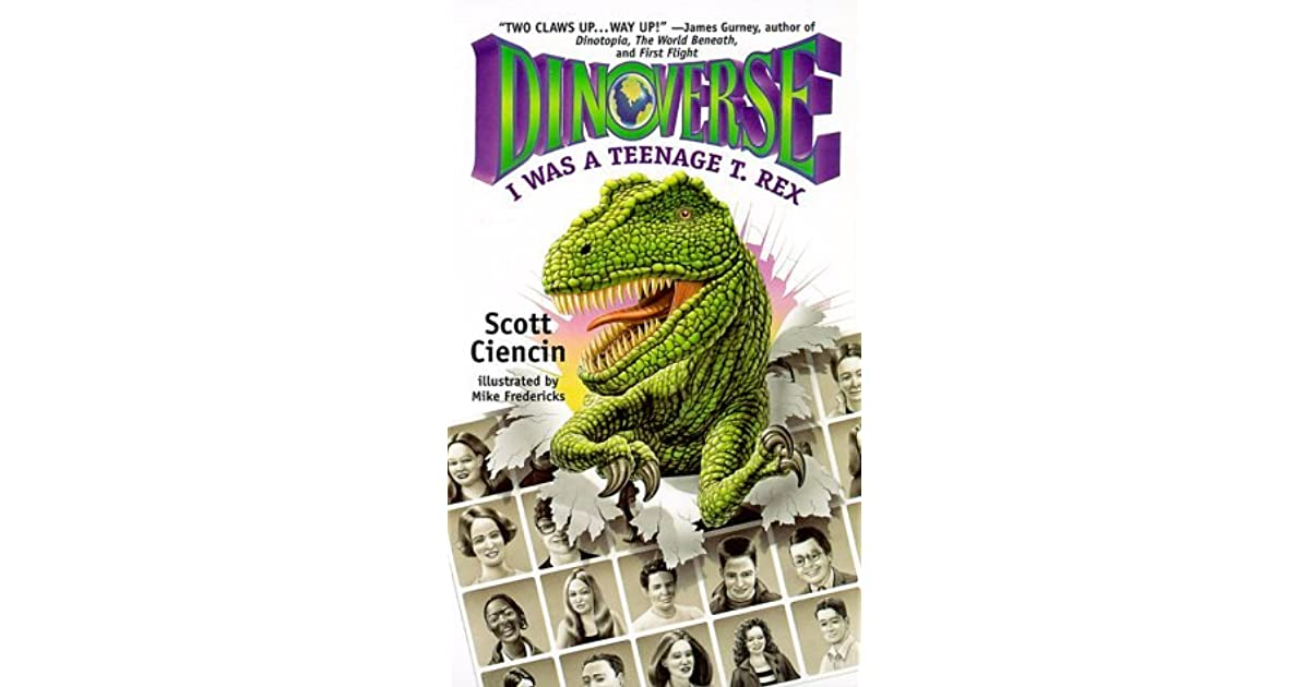 Jeg var Teenage T Rex Dinoversetm Af Scott Ciencin-2737