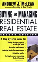 Buying And Managing Residential Real Estate
