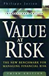 Value At Risk by Philippe Jorion