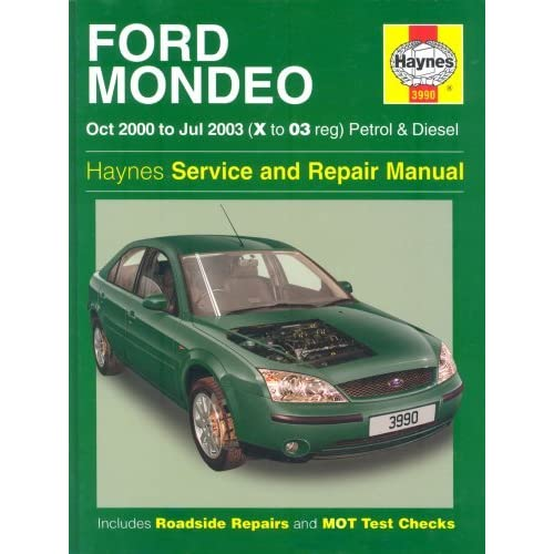 ford mondeo petrol and diesel service and repair manual 2000 to rh goodreads com 1995 Ford Mondeo ford mondeo 2003 service manual download