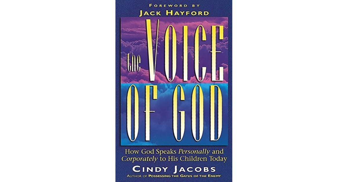 The Voice Of God by Cindy Jacobs