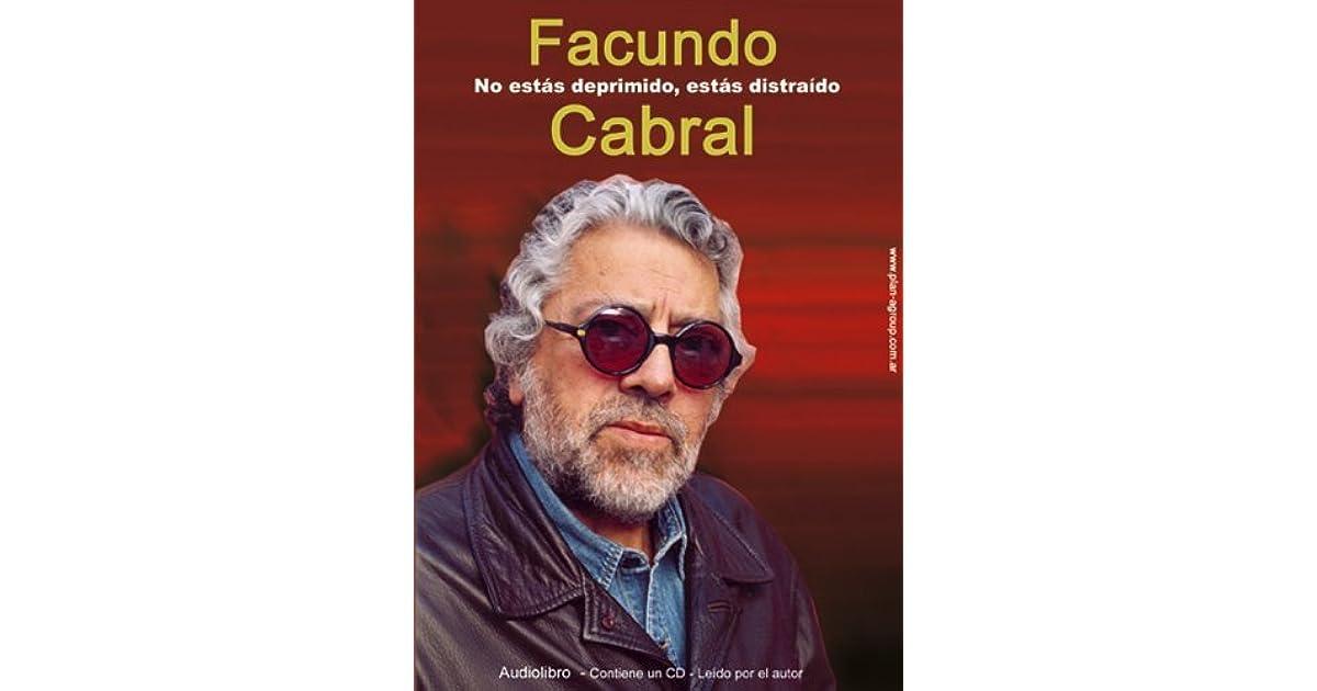 a26aa5162 No Estas Deprimido, Estas Distraido - 1 CD by Facundo Cabral