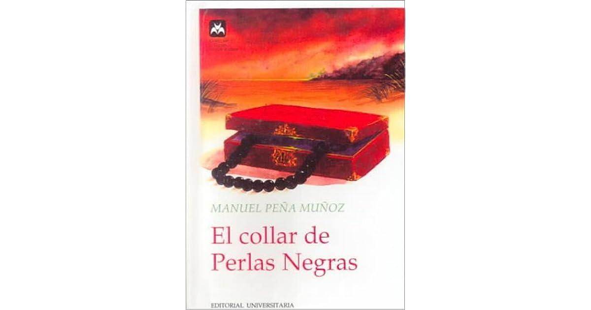 80920ba39062 El collar de perlas negras by Manuel Peña Muñoz