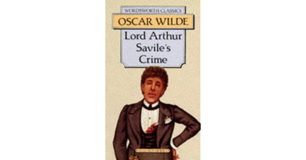 Lord Arthur Saviles Crime Pdf