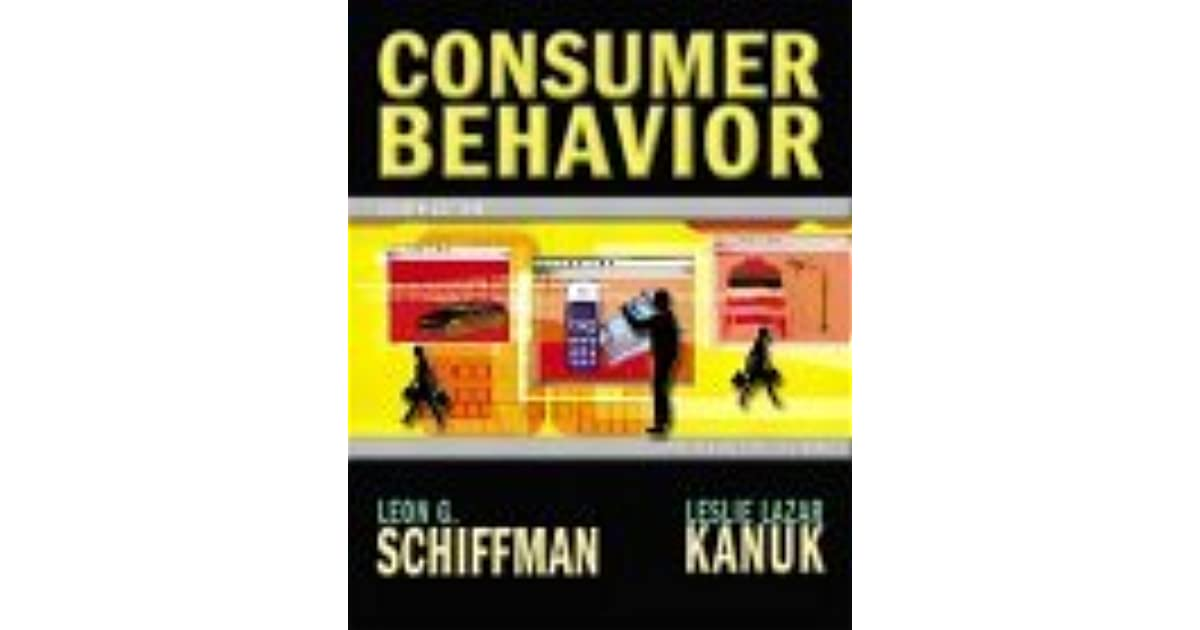 Consumer Behaviour Leon Schiffman Ebook