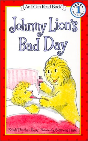 Johnny Lion S Bad Day I Can Read Books Level 1 By Edith