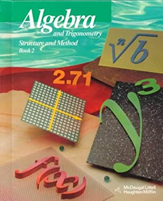 Algebra And Trigonometry Structure And Method: Book 2