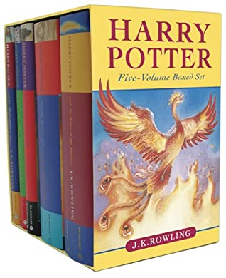 Harry Potter Boxed Set, Books 1-5 by J K  Rowling