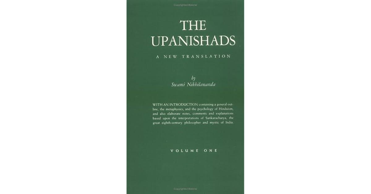 The Upanishads, Vol  I-IV (4 Volume Set) by Swami Nikhilananda
