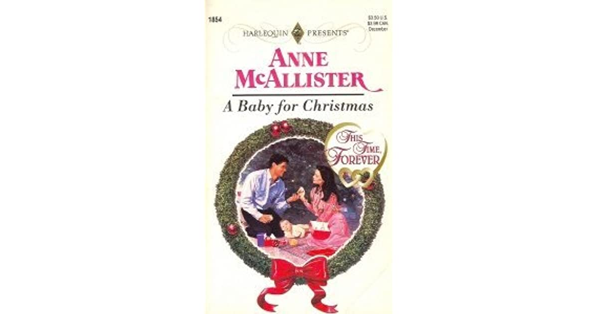 a baby for christmas mcallister anne
