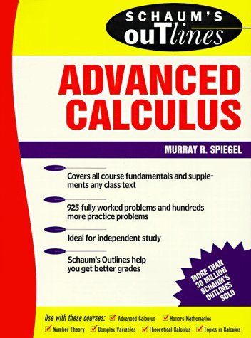 Outline advanced calculus