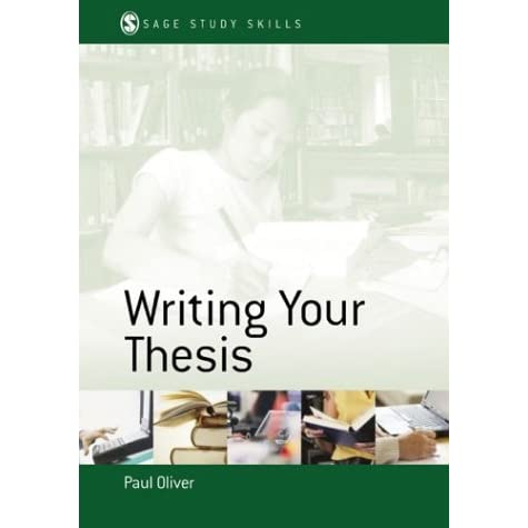writing your thesis oliver 2013-09-19 good ships with tracking number international worldwide shipping available may not contain access codes or supplements may be ex-library.