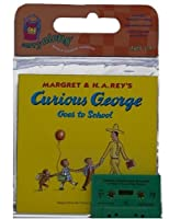 Curious George Goes to School Book & Cassette
