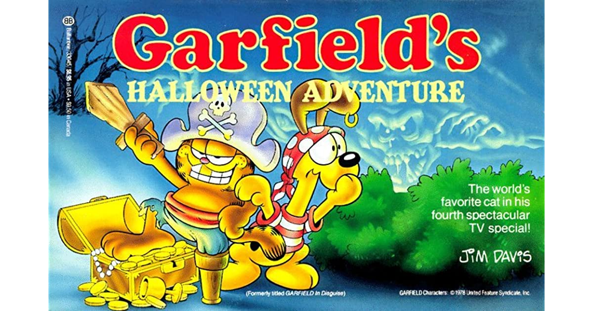 Halloween Adventure.Garfield S Halloween Adventure By Jim Davis