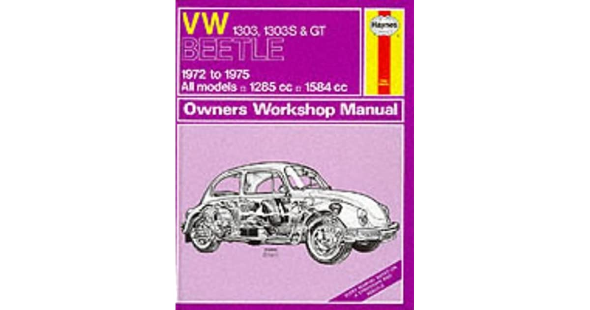 Vw beetle 1600 owners workshop manual by haynes publishing publicscrutiny Images