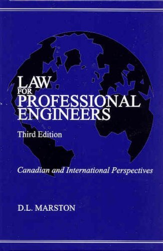 Learning Aid: Law for Professional Engineers  by  D.L. Marston