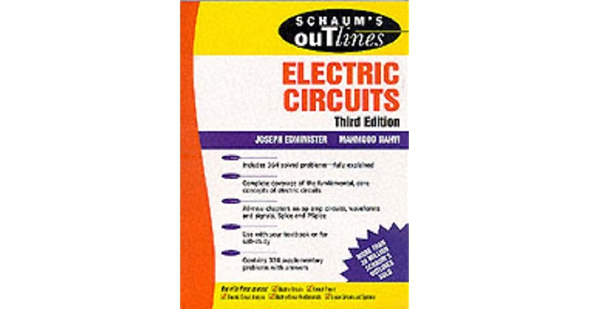 Schaums Outline Of Electric Circuits 6th Edition Pdf