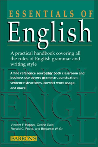 A Handbook of English Grammar The Structure of English Words ...