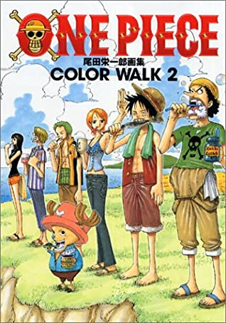 Eiichiro Oda Illust Book from Japan ONEPIECE ONE PIECE  COLOR WALK 7