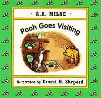 Pooh Goes Visiting (Mini Board Book)