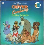 Walt Disney Pictures Oliver and Company The More the Merrier (A Golden Look-Look Book)