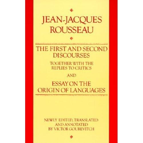 rousseau essay on the origin of languages online On the origin of language: jean-jacques rousseau, essay on the origin of languages johann gottfried herder, essay on the origin of language by moran, john h, edt and trl  rousseau, jean-jacques, 1712-1778.