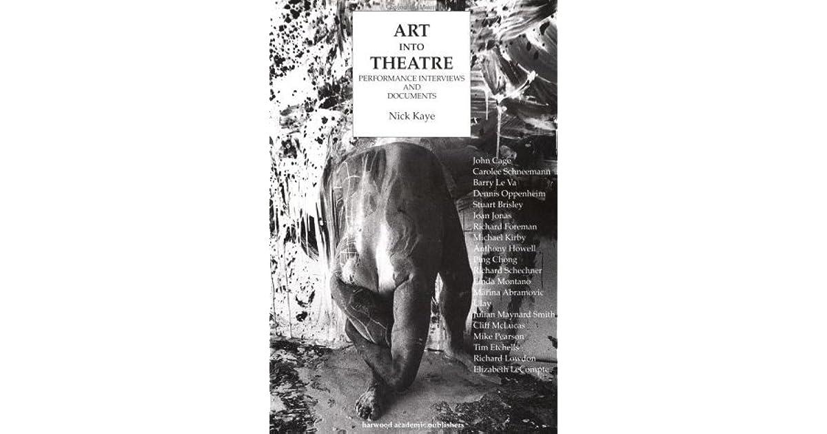 art into theatre kaye nick
