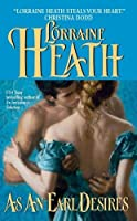 As an Earl Desires (Lost Lords, #1)