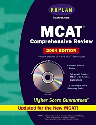 Kaplan MCAT Comprehensive Review [With CDROM] by Kaplan Inc
