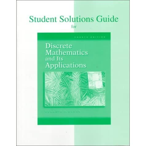 Kenneth H Rosen Discrete Mathematics And Its Applications Ebook