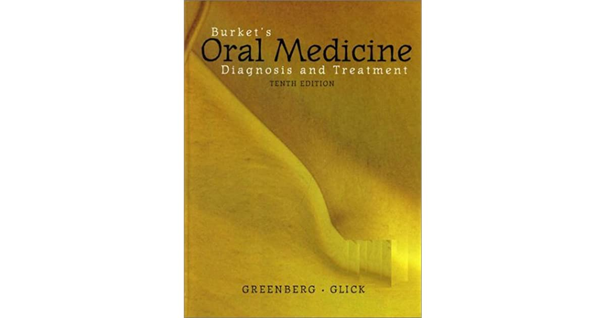 Burkets Oral Medicine Book
