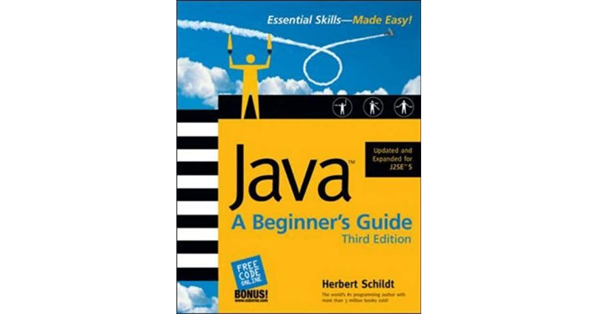 Java A Beginner S Guide By Herbert Schildt